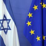 Flags, EU and Israel