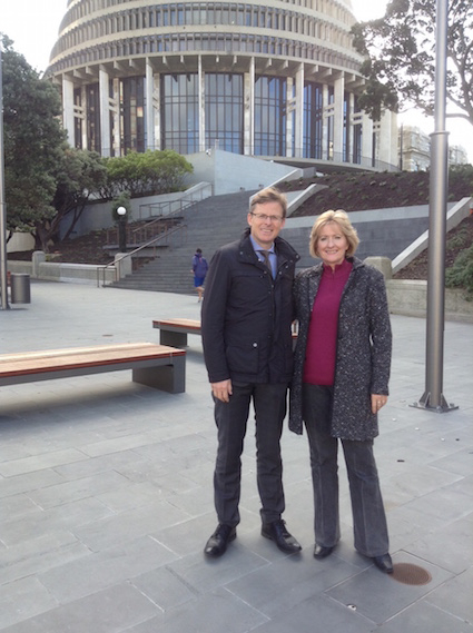 ECI in Unique Mission to Australia and New Zealand
