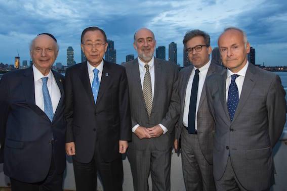 First Tashlich ceremony at the UN