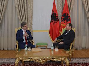 ECI representative visiting Albania