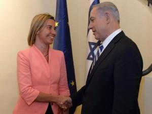 Netanyahu and Mogherini