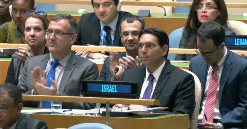 ECI congratulates Ambassador Danon as first ever Israeli chair of a UN main committee