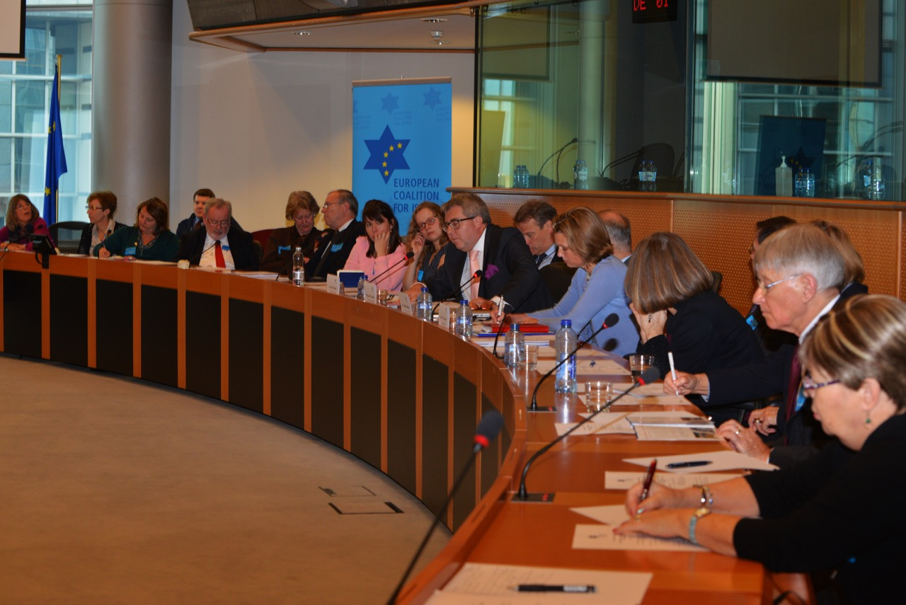 ECI symposium 3d December European Parliament in Brussels Jewish contributions to European culture and values