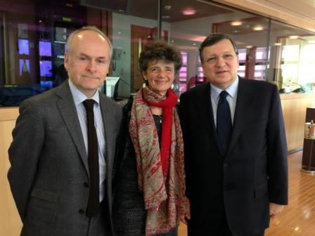 Barroso received Wallenberg Centennial Medal