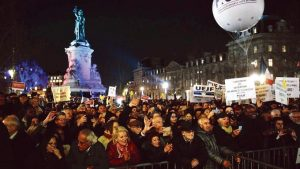 Demonstration Paris